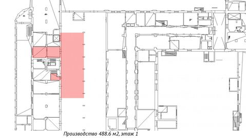 Производственное помещение 488 м2, ул. Комсомола - Фото 3