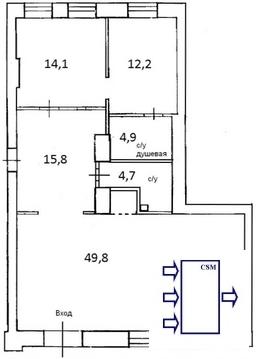 Уфа. Офисное помещение в аренду ул.Тукаева Площ.100 кв.м - Фото 2