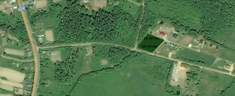 Продажа земельного участка в деревне Дубровка, Новгородского района - Фото 2