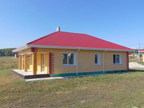 Д. Шайдурово кп , Красная поляна, Кирпичный дом 103 кв.м. - Фото 1
