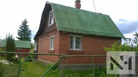 Продается кирпичный дом в садоводстве Строитель, массив Пупышево - Фото 1