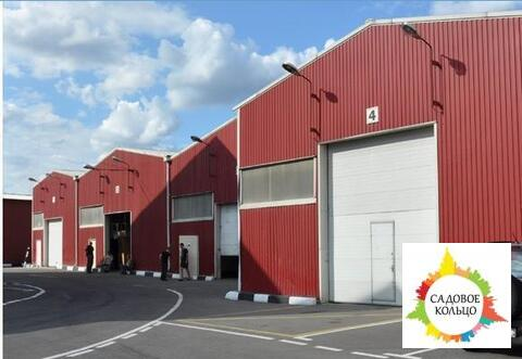 Под склад, площ.: выс. потолка: 3-6 м, отаплив, огорож. терр, охрана - Фото 2