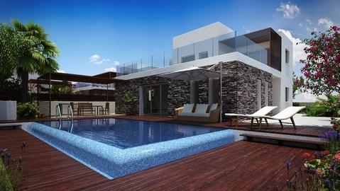 Новые замечательные 3-х и 4-х спальные Виллы на набережной зоне Пафоса - Фото 4