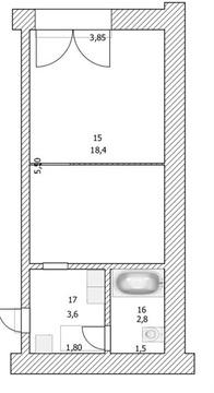 Квартира по адресу.Кортунова 14 - Фото 5