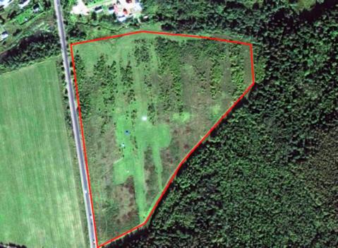 Земельный участок 10 Га в д. Рождествено, 35 км от МКАД - Фото 1