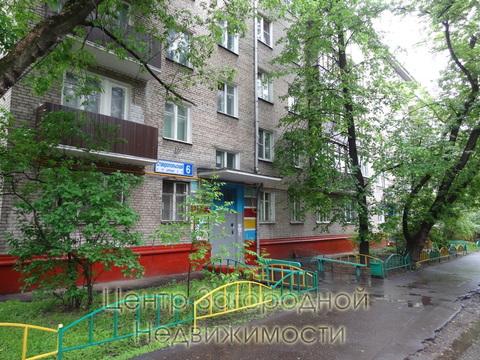 Однокомнатная Квартира Москва, улица Ставропольская, д.6, ЮВАО - . - Фото 4