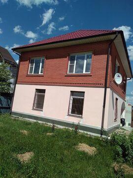 Дом кирпичный 125.3 кв.м. с земельным участком 9.5 соток в г. Кашира, . - Фото 1