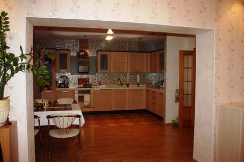 Просторная 4-к.квартира на пр.М.Горького, качественный ремонт, мебель. - Фото 5