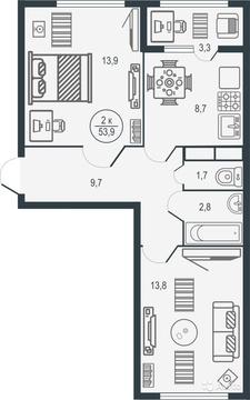 Квартира в новом жилом комплексе - Иллидиум! - Фото 2