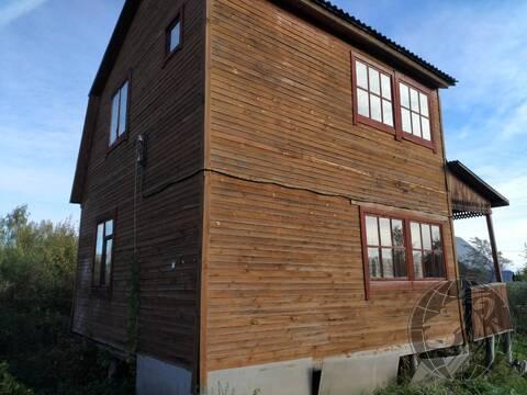 Дачный дом на участке сотки СНТ Василек, Подольск, Климовск. - Фото 1