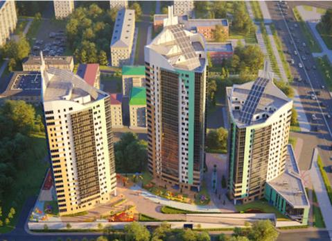 ЖК Манхэттен Оренбургский тракт продается трехкомнатная квартира. - Фото 1