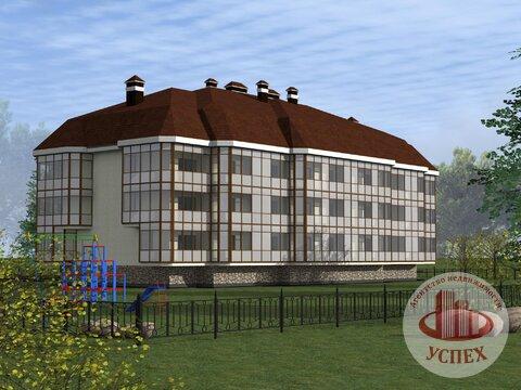 Квартиры в новом строящемся доме, Большевик - Фото 1