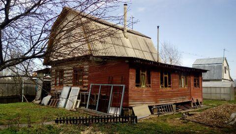 Продаю зимнюю дачу в Ступинском районе, дом из бревна с.Ситне-щелканов - Фото 3