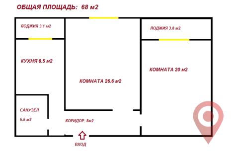Продажа квартиры, м. Проспект Просвещения, Ул. Композиторов - Фото 2