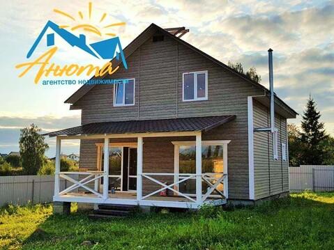 Новый дом с газом в деревне у озера - Фото 1