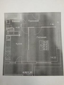 Объявление №50125982: Продаю 1 комн. квартиру. Москва, ул. Муравская, 42к2,