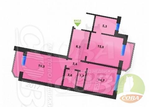 Продажа квартиры, Тюмень, Ул. Пермякова - Фото 1