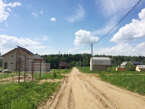 Участок 11,5 соток д. Беклемишево 45 км от МКАД по Дмитровскому шоссе - Фото 1