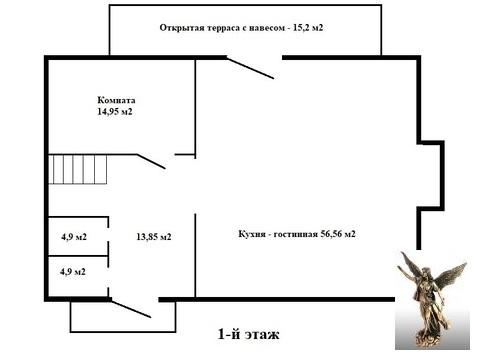 Готовый дом по цене квартиры вблизи города. - Фото 3