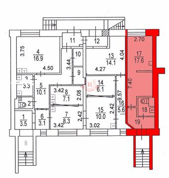 Сдаю помещение 24м2, м. Шаболовская, 1 этаж - Фото 5