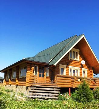 Продаётся современный бревенчатый дом, Продажа домов и коттеджей Пешки, Лотошинский район, ID объекта - 504398797 - Фото 1