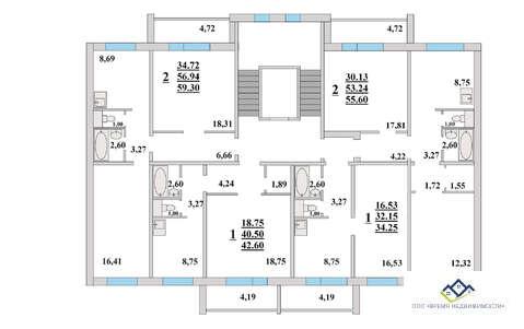 Продам однокомнатную квартиру Прокатная 17, 34 кв.м. Цена 1280т.р - Фото 2