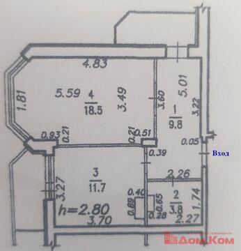 Продам 1-комнатную квартиру по адресу: ул. Советская 10 в Хабаровске. - Фото 5