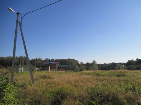 Участок, Ярославское ш, 39 км от МКАД, Кстинино д. Ярославское шоссе, . - Фото 1