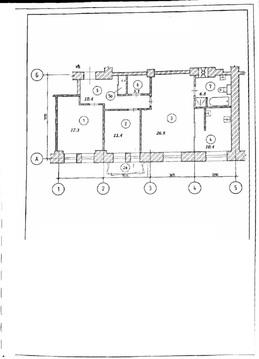 Новослободская ул, 50/1с2 88 кв.м.с ремонтом класса «премиум +», - Фото 3