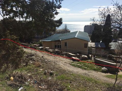 Продам ровный участок в жилом р-не с видом на море - Фото 1