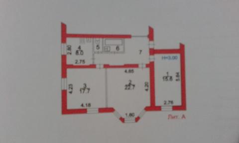 3 комнатная квартира в г. Пересвет - Фото 1