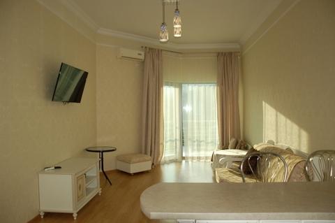 2-комнатные апартаменты в Ялте, новый дом, 50 метров до моря - Фото 1