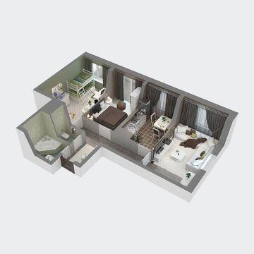 Продажа квартиры, Пенза, Ул. Антонова, Купить квартиру в Пензе по недорогой цене, ID объекта - 326427268 - Фото 1
