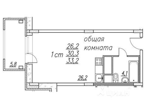 Продажа квартиры, Ногинск, Ногинский район, Улица Дмитрия Михайлова - Фото 2