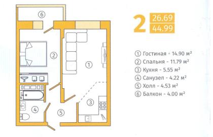 Продажа квартры в новостройке - Фото 2