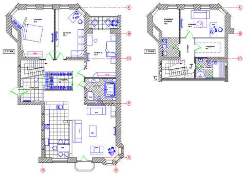 Современная двухуровневая квартира площадью 254,3 кв.м - Фото 5