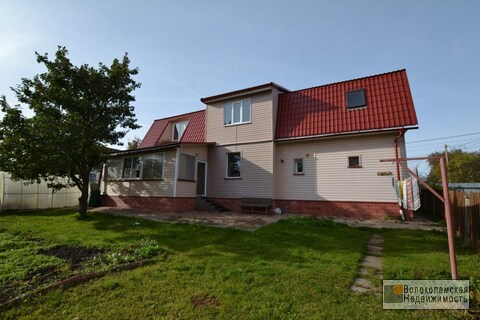 Капитальный жилой дом в г.Волоколамске на ул.Клочкова - Фото 1