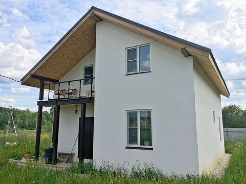 Зимний дом 120 м на участке 6,5 сот. в ДНП Улыбка Радуги - Фото 1