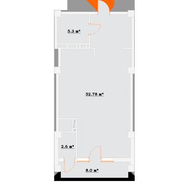 Снижена цена на просторную студию в новом доме в Массандре! - Фото 2