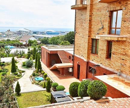 Гостиница с панорамным видом на море и Олимпийский парк - Фото 1