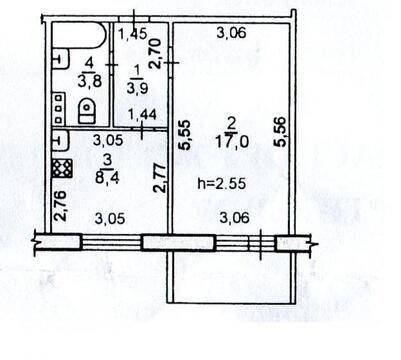 Продается квартира 32 кв.м, г. Хабаровск, ул. Сысоева - Фото 2