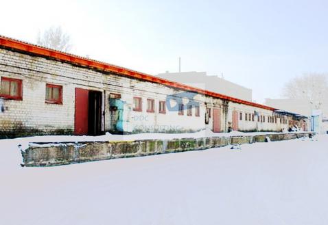 Неотапливаемый капитальный склад 850 кв.м. в Левобережной промзоне - Фото 1