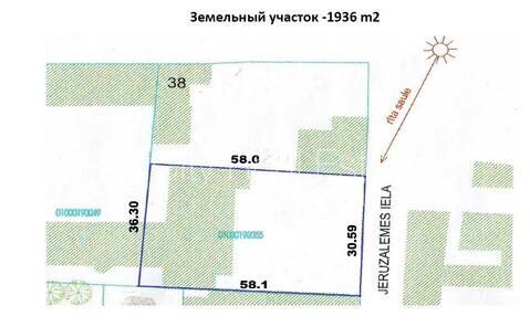 Продажа участка, Улица Йeрузалемес - Фото 4