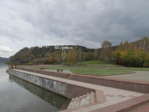 Участок 88 соток в Усть-Мане на берегу реки - Фото 1
