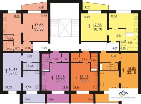 Продам квартиру п Рощино, ул Ленина,23стр 7эт, 25 кв.м, цена 730 т.р. - Фото 3