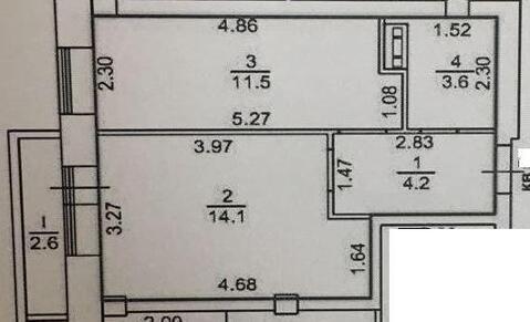 Продам 1-комнатную квартиру пер.Панфиловский 8 - Фото 1