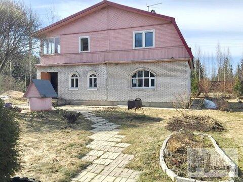 """Д. Мыза, СНТ """"Подснежник"""" 6 сот, дом 180 кв.м, баня - Фото 1"""