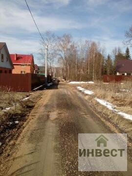Продается земельный участок 10 соток, д.Назарьево СНТ Солнышко - Фото 1