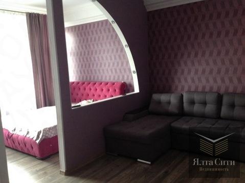 Просторная квартира с хорошим ремонтом в современном ЖК в Гурзуфе - Фото 5