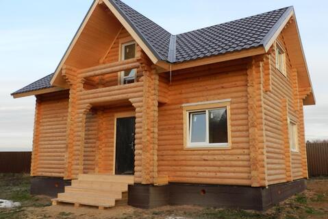 Дом с участком по Киевскому шоссе из бревна 8-10 соток Вишневый сад - Фото 3